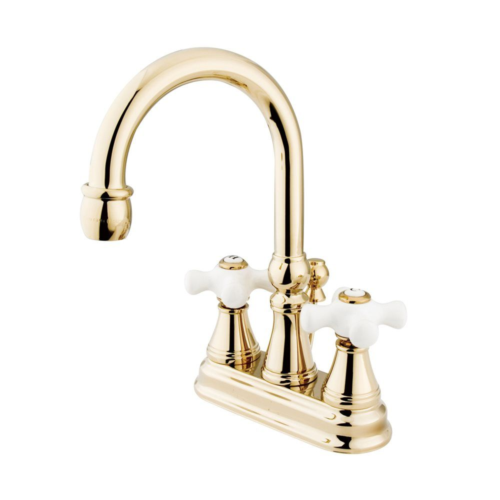 192 Elements Of Design Es261 Centerset Faucet Lowe S Canada Bathroom Faucets Kingston Brass Polished Brass