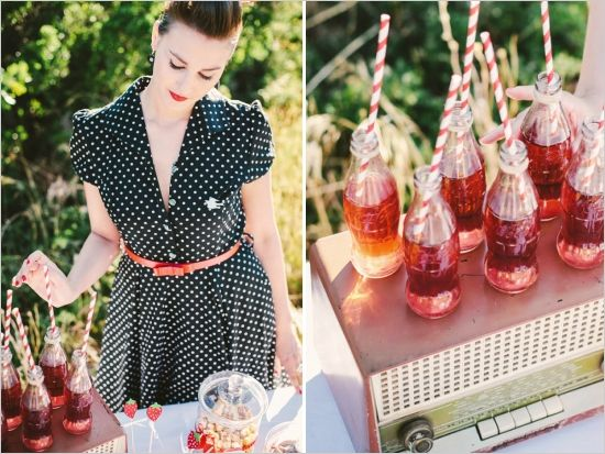 French Rockabilly Wedding Ideas