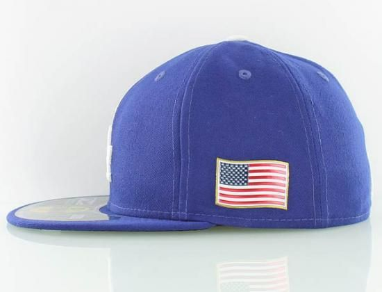 ... los angeles dodgers usa flag 59fifty fitted baseball cap by new era x  mlb a48ee997e11e