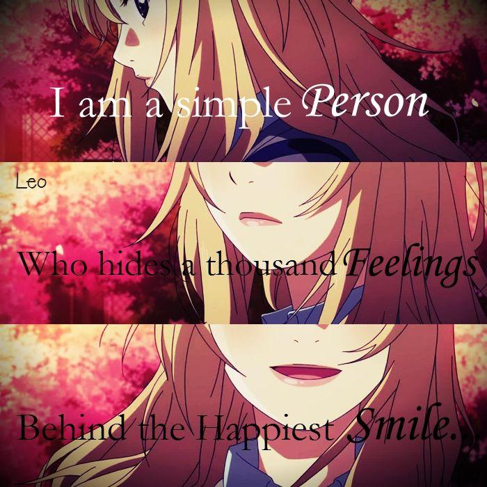 Your Lie In April Shigatsu Wa Kimi No Uso Anime Quotes Anime