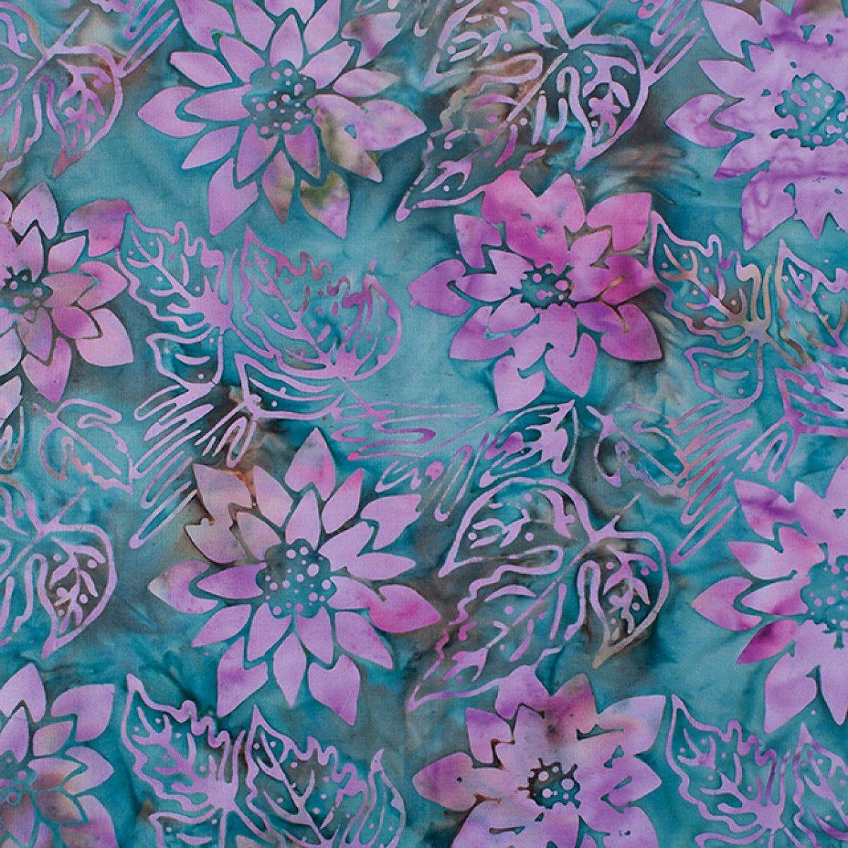 Bali Batik Fabric Floral