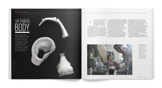 Creative Review - CR April issue: creativity in health