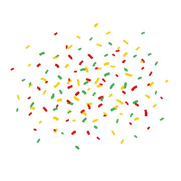 2019 的 cartoon confetti