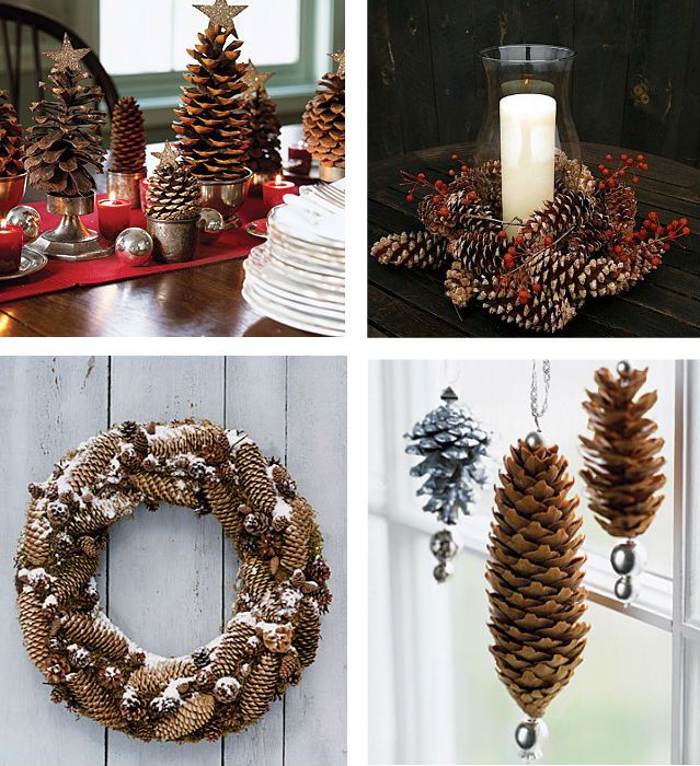 Diy Pinecone Decorations (http://goodideasforyou.com/mix-a