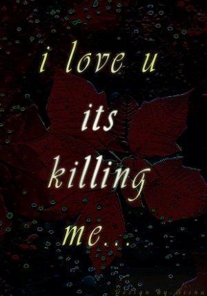 Goth I Love U Quotes QuotesGram