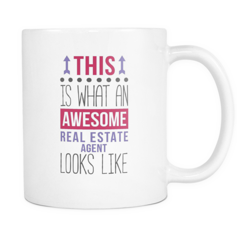 7bef256e91 [product_style]-Real Estate Agent coffee cup - Awesome Real Estate Agent- Teelime