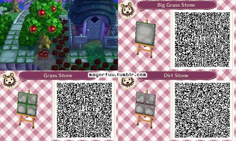 Mayorfuu These Are The Stepping Stone Paths I Made For My Town