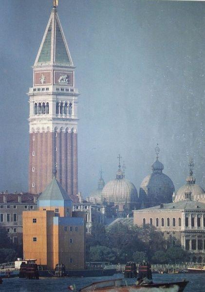 Theatre of the World : Teatro del Mondo, Venice Italy (1979) | Aldo Rossi