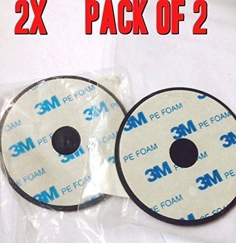 Lot of 2-70mm Adhesive Mounting Disk for Car Dashboards GPS