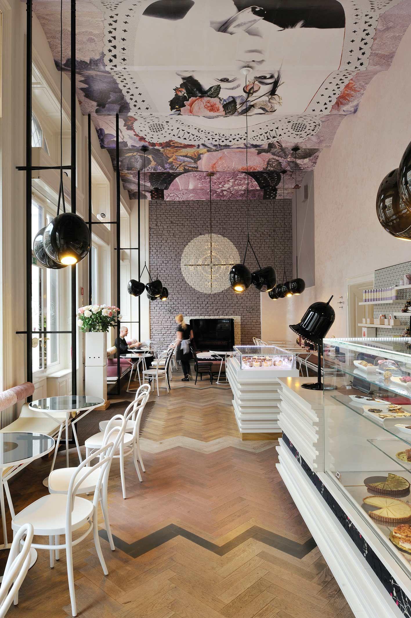 Great ceilings at The Lolita Café Ljubiljana   summer lovin ...