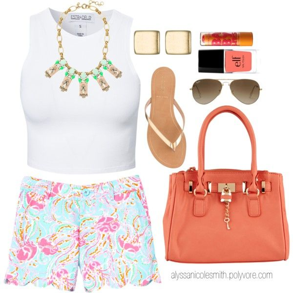 """""""Flirty Summer Outfit"""" by alyssanicolesmith on Polyvore"""