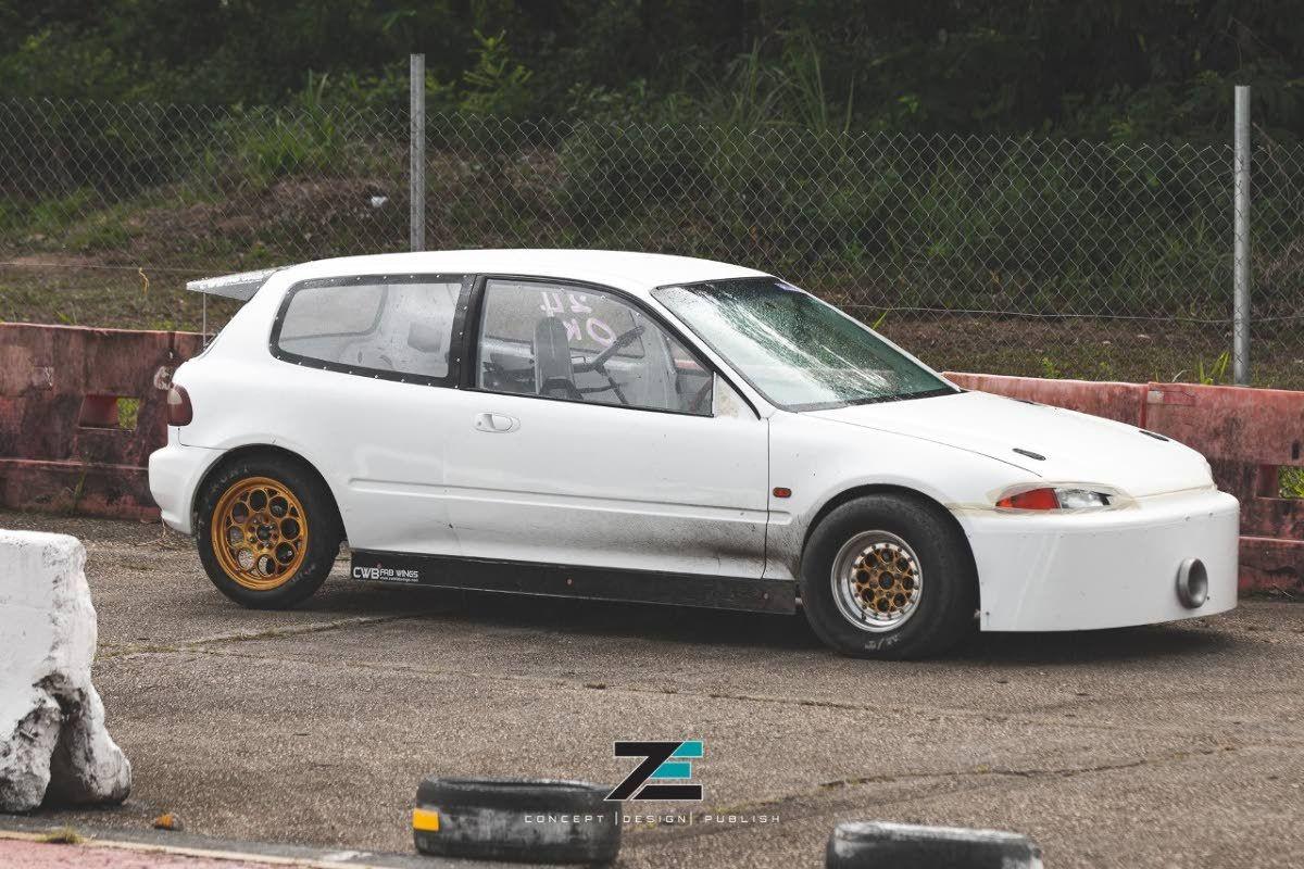 The Front Wheel Drive Honda Civic Named Slingshot Drag Racing Racing Honda Civic