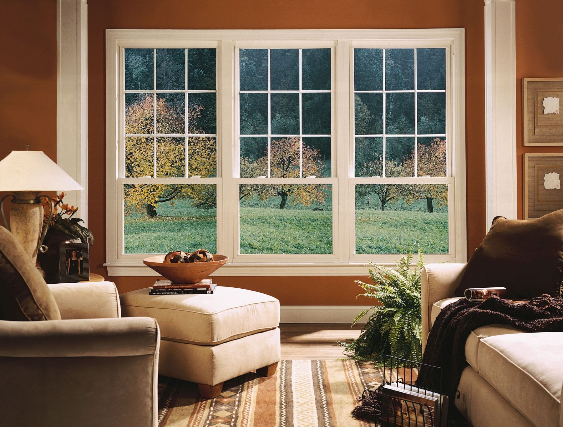 Create A Beautiful View With The Right Windows In Your Home Interior Windows House Window Design Living Room Windows
