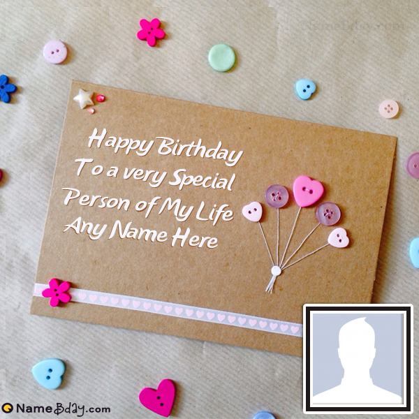 Make Online Happy Bday Cards With Name And Photo