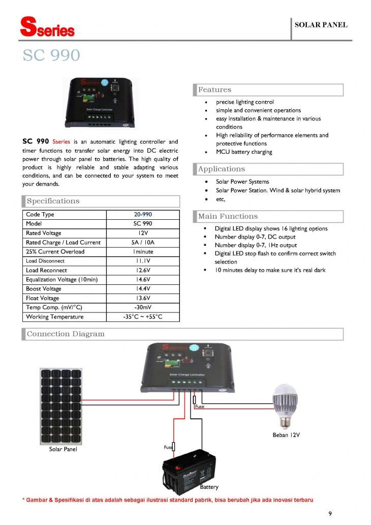 Controller solar panel s series sc 990 12v 10a solar panel controller solar panel s series sc 990 12v 10a ccuart Images