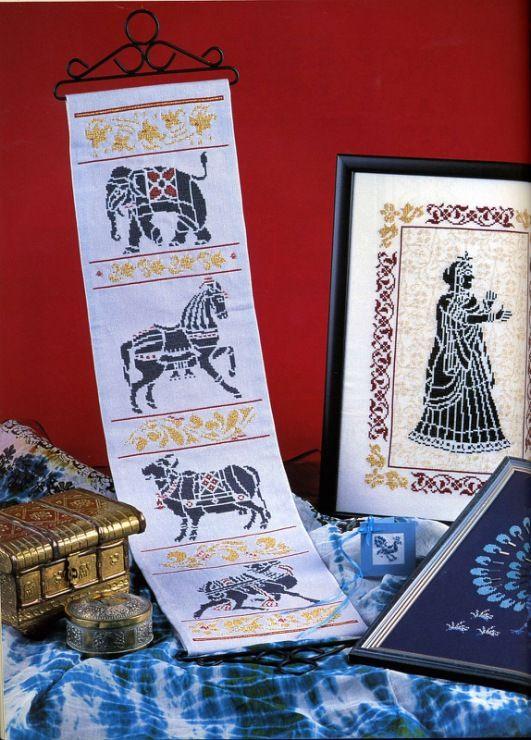 Gallery.ru / Фото #108 - Вышивка. Индийские мотивы - thabiti