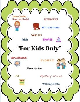 +++This+is+a+learning+packet+/+magazine+to+review+basic+skills+in+writing,+math,+and+reading.+Most+pages+have+2+activities.+There+are+8+characters+in+the+magazine+that+give+directions+to+the+students+on+how+to+complete+the+pages.+This+is+also+listed+in+black+and+white+in+my+store.