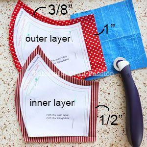 Photo of Face Mask Pattern – Free Sewing Pattern • Craft Passion