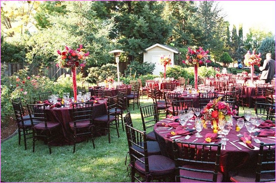 Backyard Wedding Ideas For Fall