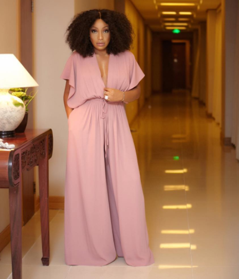 59affb990beb Photos  Rita Dominic Shows Off Some Sexy In Jumpsuit