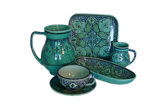 turquoise spanish dinnerware  sc 1 st  Pinterest & turquoise spanish dinnerware | Cool Dishes | Pinterest | Dinnerware ...