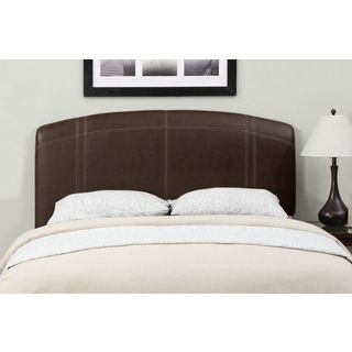 Brown Sched Leather Full Queen Size Headboard Enhance Your Bedroom With This Stylish Interchangeable