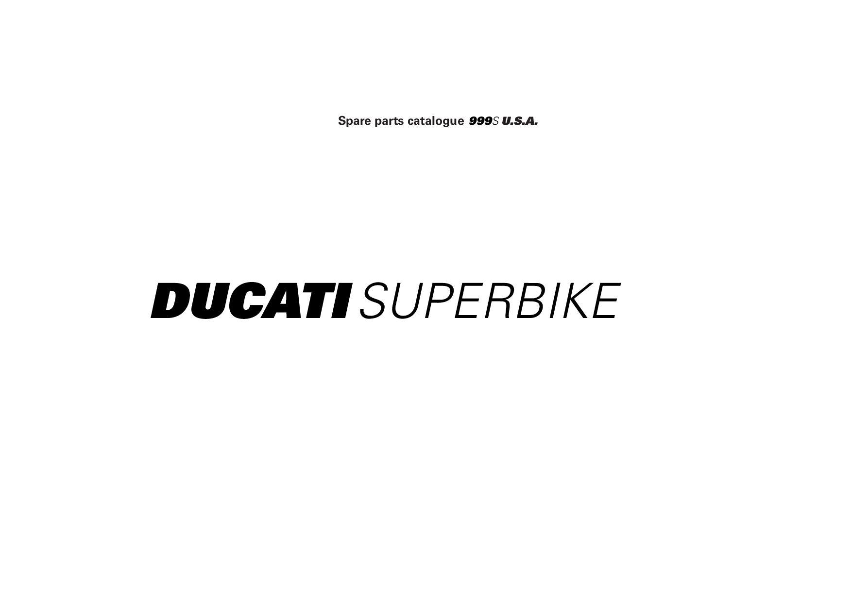 Ducati 999 S 2006 Parts List Pdf Download Service Manual Repair Manual Pdf Download Repair Manuals Pdf Download Ducati