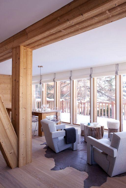 La montagne de prestige de luxe Chalet Rénnvation | Maison / House ...