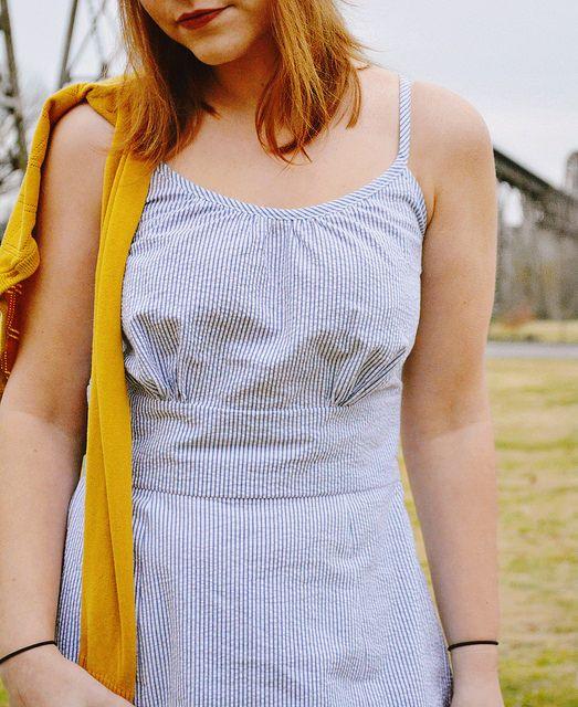 Colette Patterns Dahlia Dress - Version 2