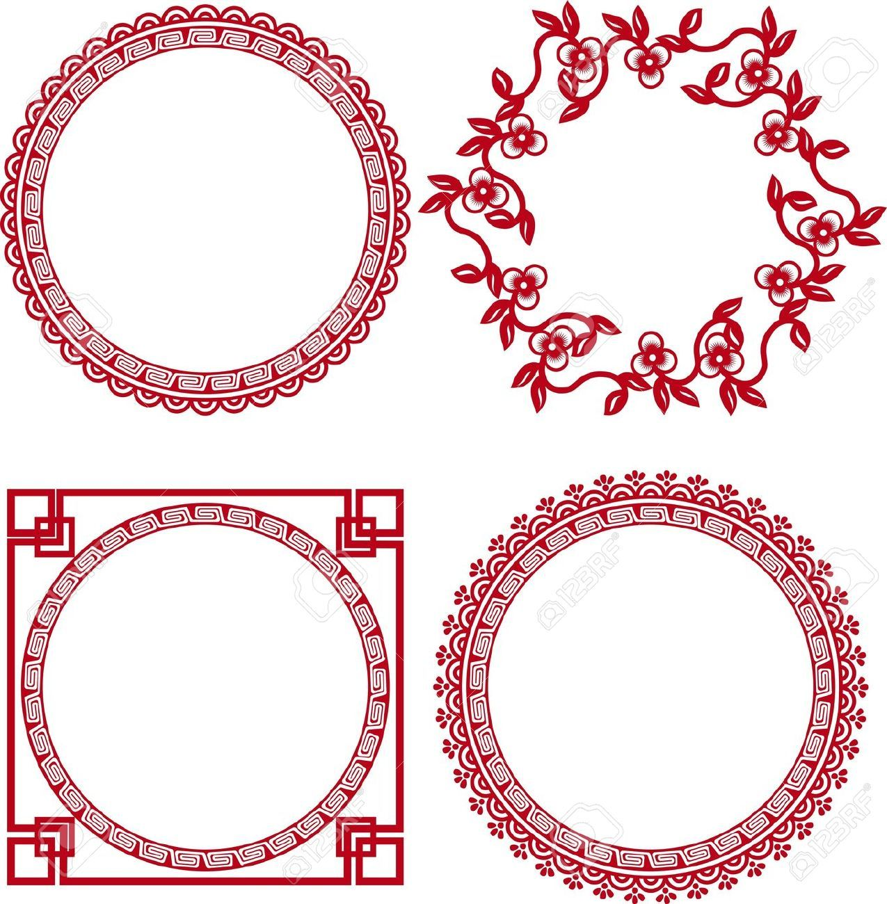 16212689-chinese-ornamental-frames--Stock-Vector-chinese-frame ...