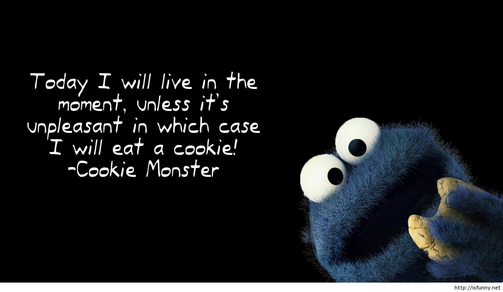 Funny Cookie Monster Wallpaper Quote Isfunny
