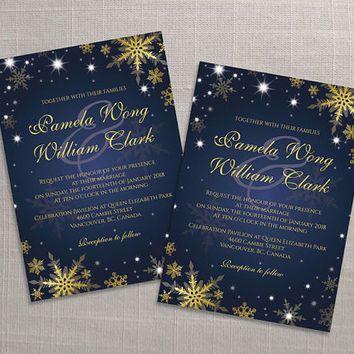 DIY Printable Wedding Invitation Card Template | Editable MS Word File | 5  X 7 |