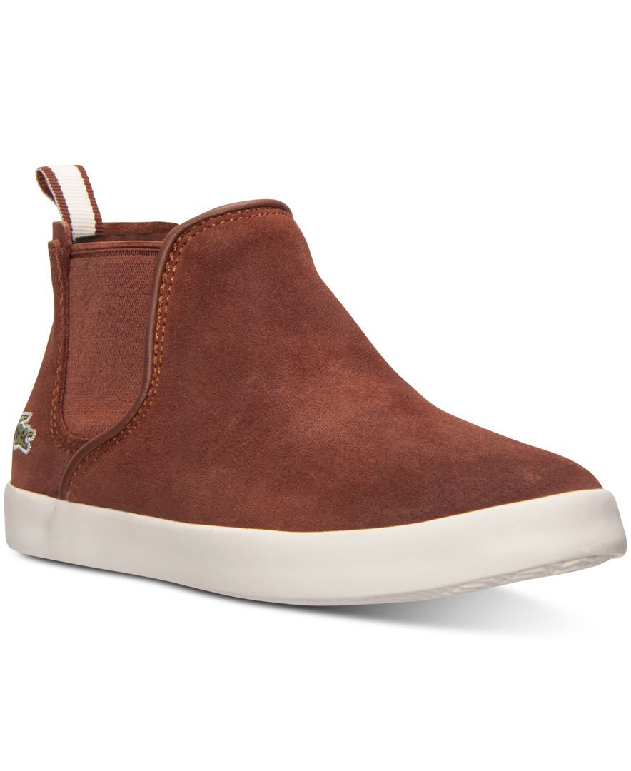 Lacoste Little Girls' Ziane Chelsea Sb Boots from Finish Line