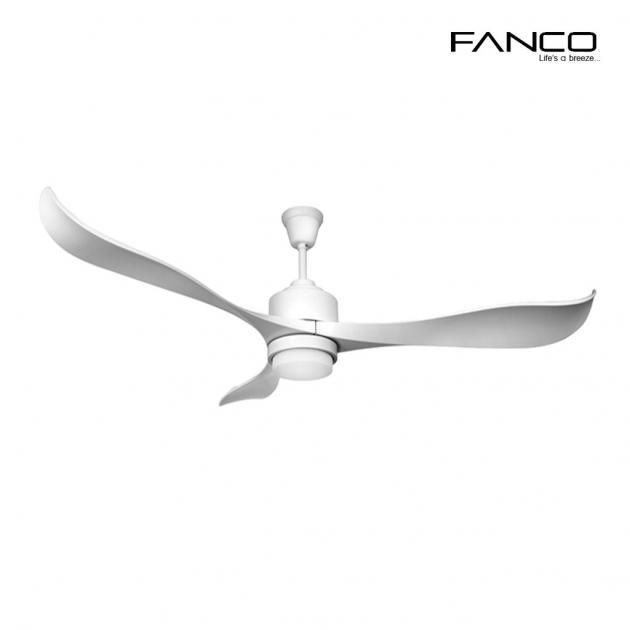 Fanco Ceiling Fan E Trinity Led Wh