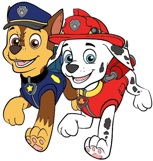 Marshall Chase Png 505 532 Cartoons Png Paw Patrol Paw Patrol Clipart