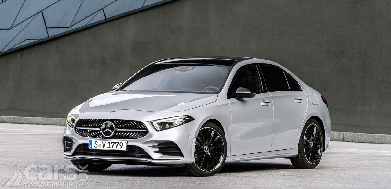 New Mercedes A Class Saloon Uk Prices And Specs Announced In 2020