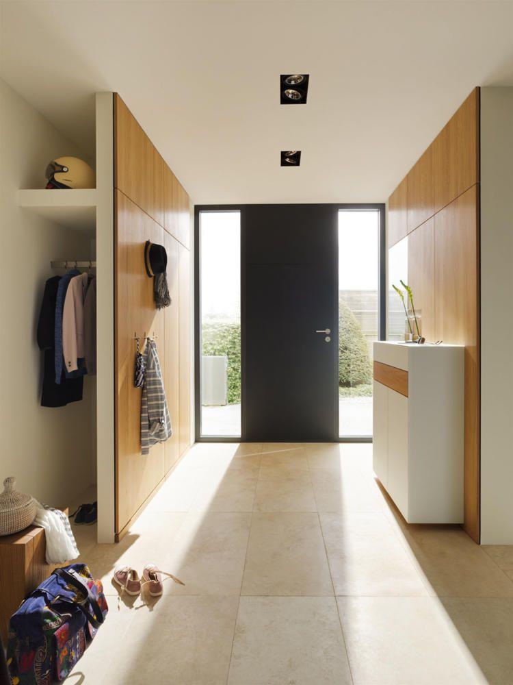 Garderobe Versteckt Wohnen Moderner Eingangsbereich Wohn Design