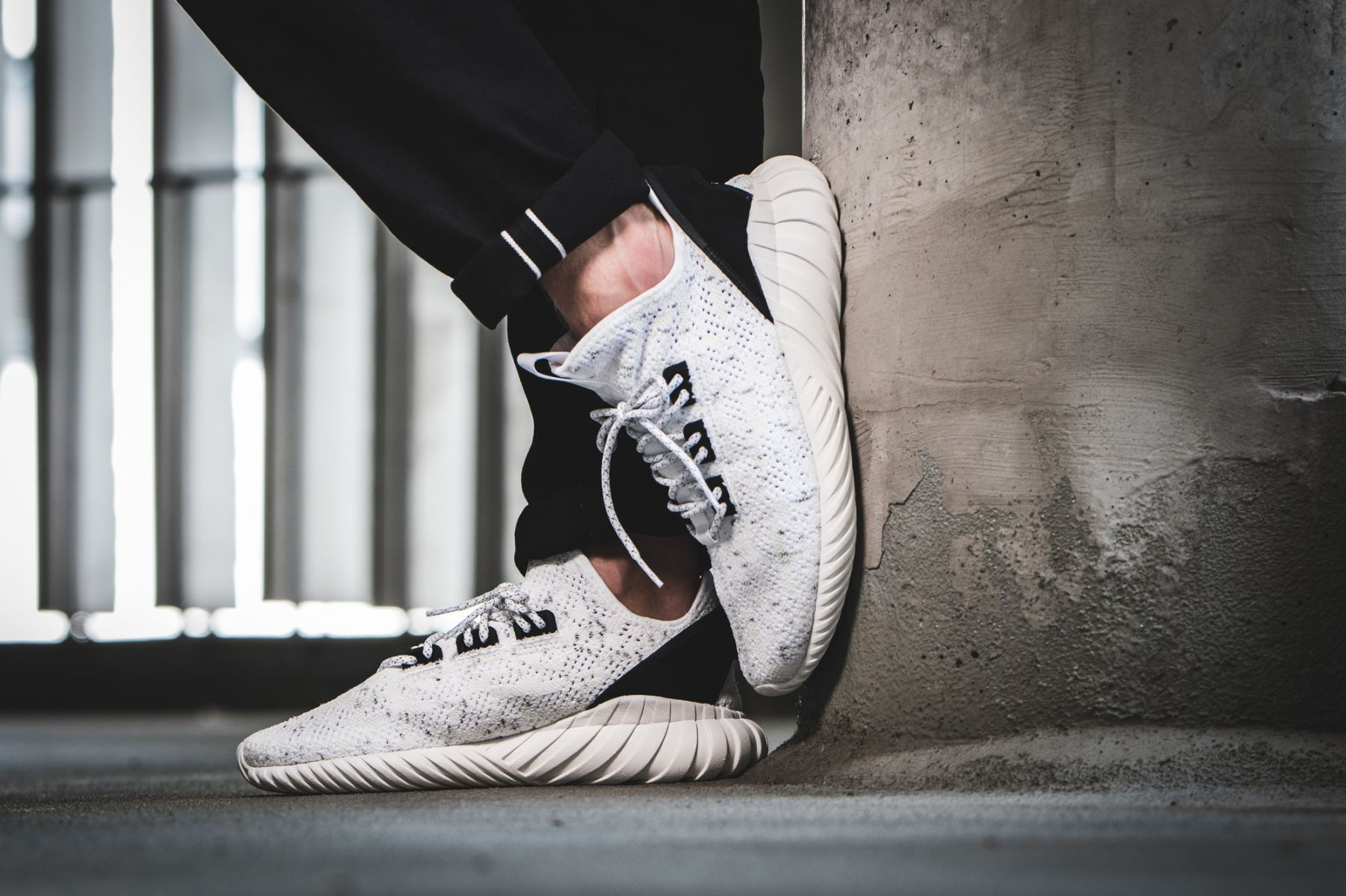 sneakers for cheap 22c25 f18aa adidas Tubular Doom Sock PK (weiß / schwarz) - BY3558 ...