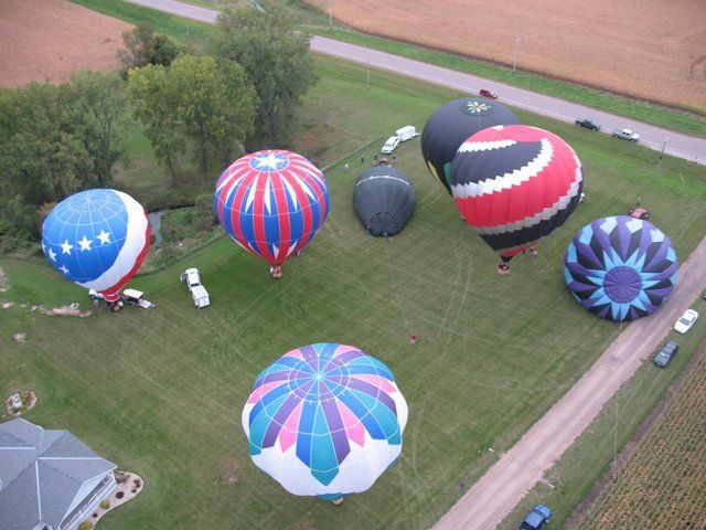 Balloons over Belview, MN