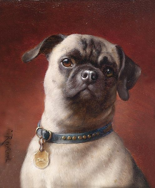 The 14 Proudest Pugs In The History Of Art Dog Paintings Famous
