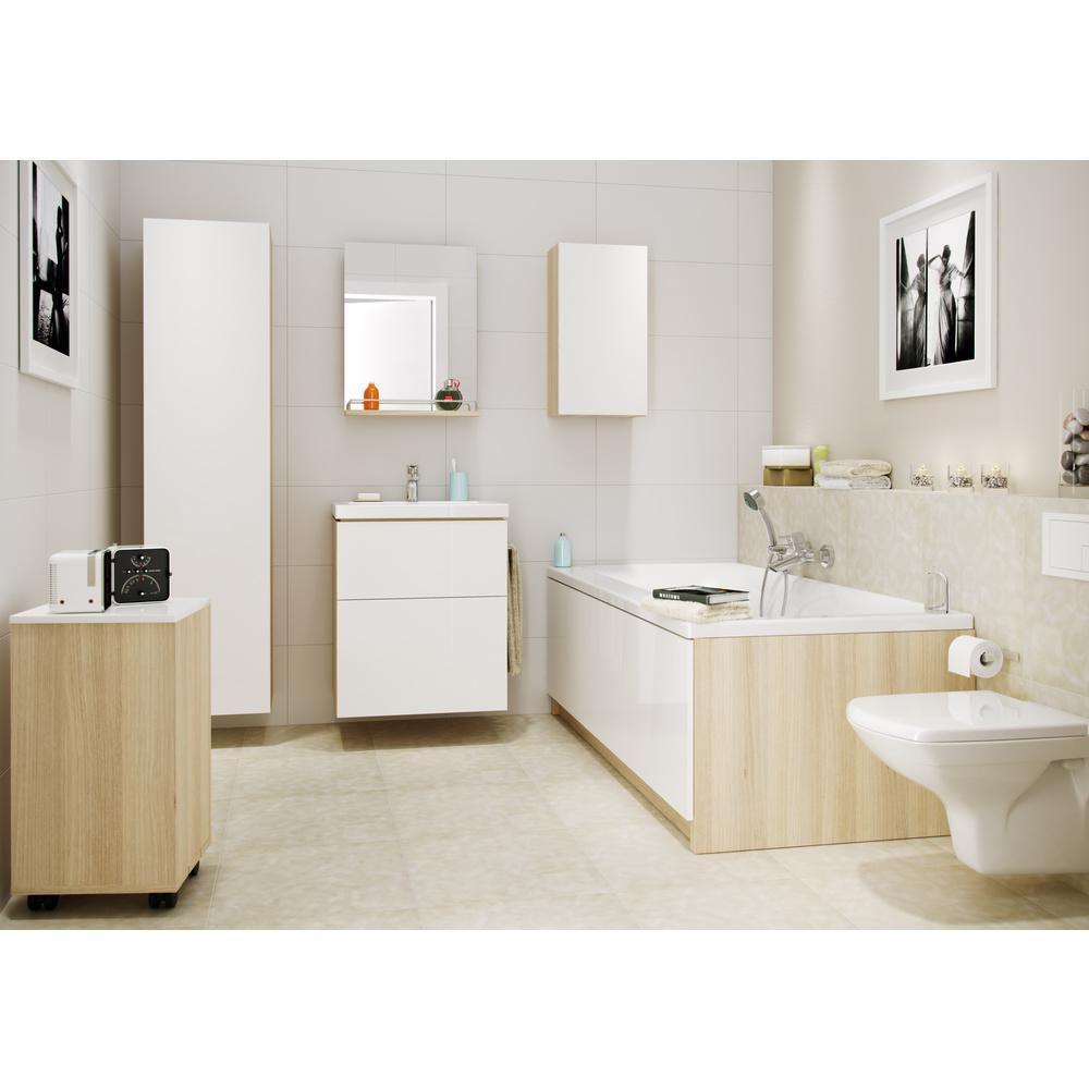 Serie Mebli Lazienkowych Smart W Sklepach Leroy Merlin Bathroom Bathtub Home