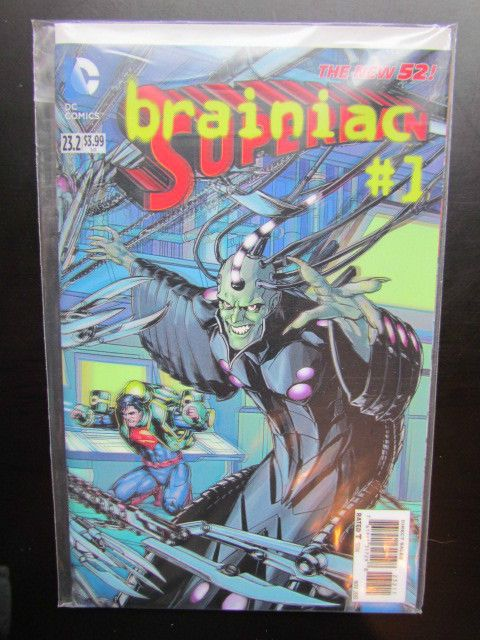 Green Lantern 23.4  Sinestro #1  3-D Lenticular New 52 DC 1st Print  Nm