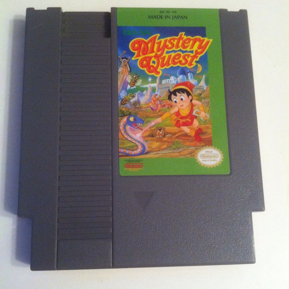 nes mystery quest