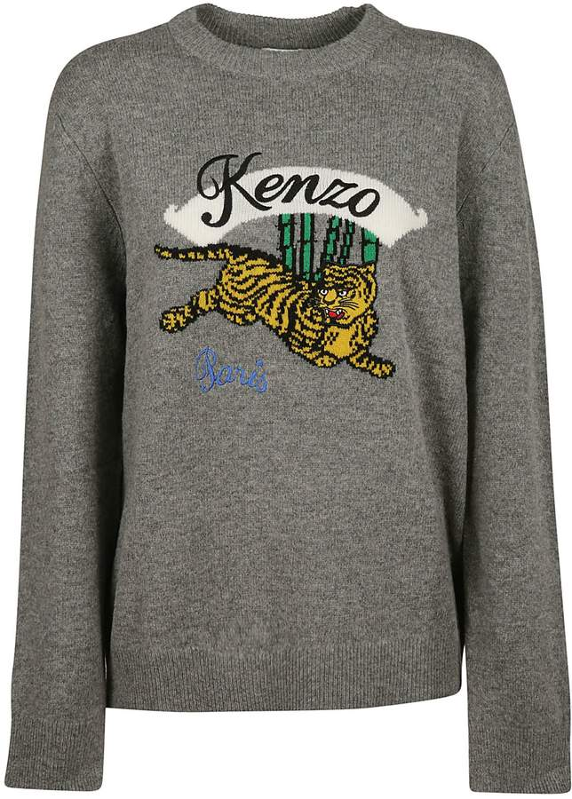 7e8e2e19 Kenzo Jumping Tiger Jumper | Products | Mens fashion, Sweaters, Fashion