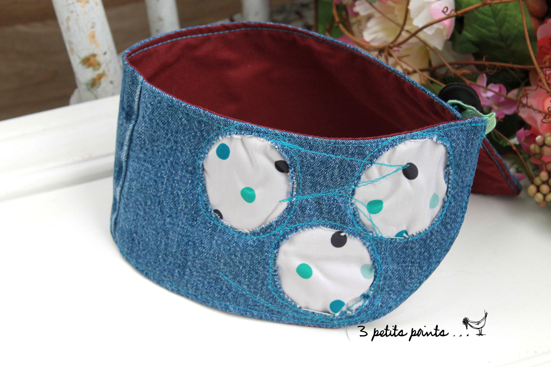 Bavoir bandeau petit pois, foulard pour bébé et enfant, foulard pour  trachéostomie, collet enfant, éco-responsable de la boutique 3petitspoints  sur Etsy d22f6c5c4f8