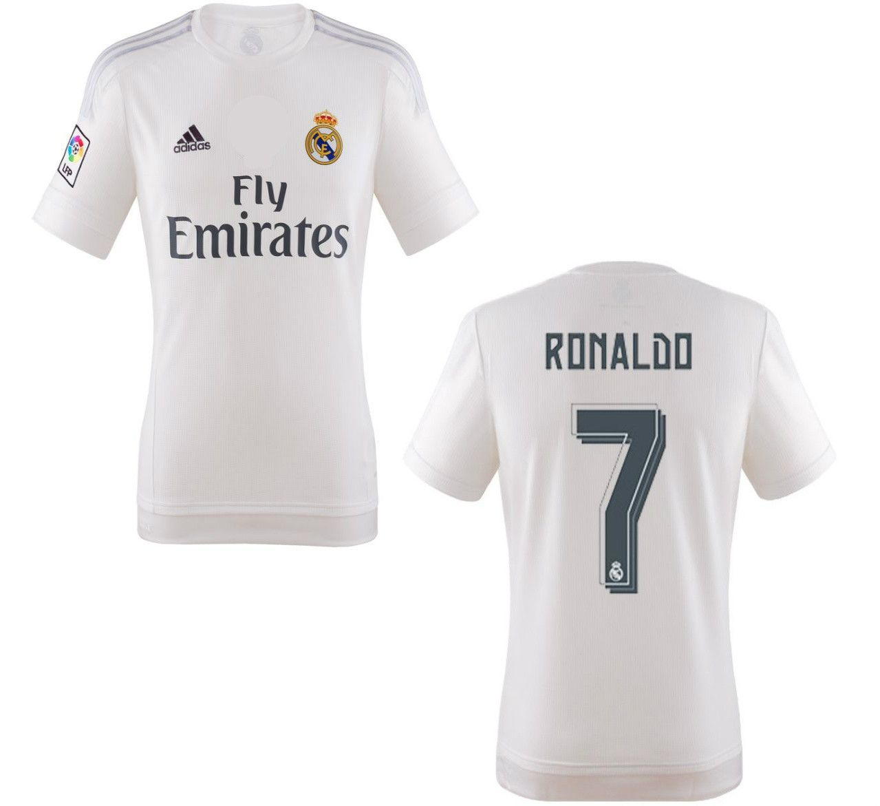 best authentic 42c76 56ffe Ronaldo Jersey Real Madrid 2015 2016 | ivory Ella | Ronaldo ...