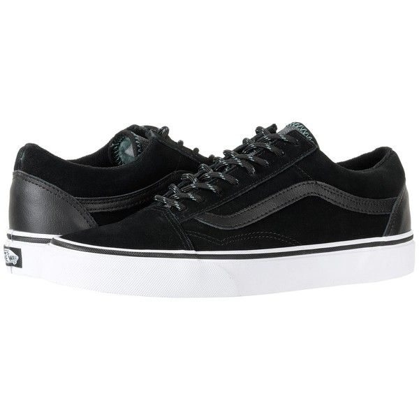 0769fbe67533 Vans Old Skooltm ((Vans Trek) Black Wasabi) Skate Shoes (83 CAD) ❤ liked on  Polyvore featuring shoes