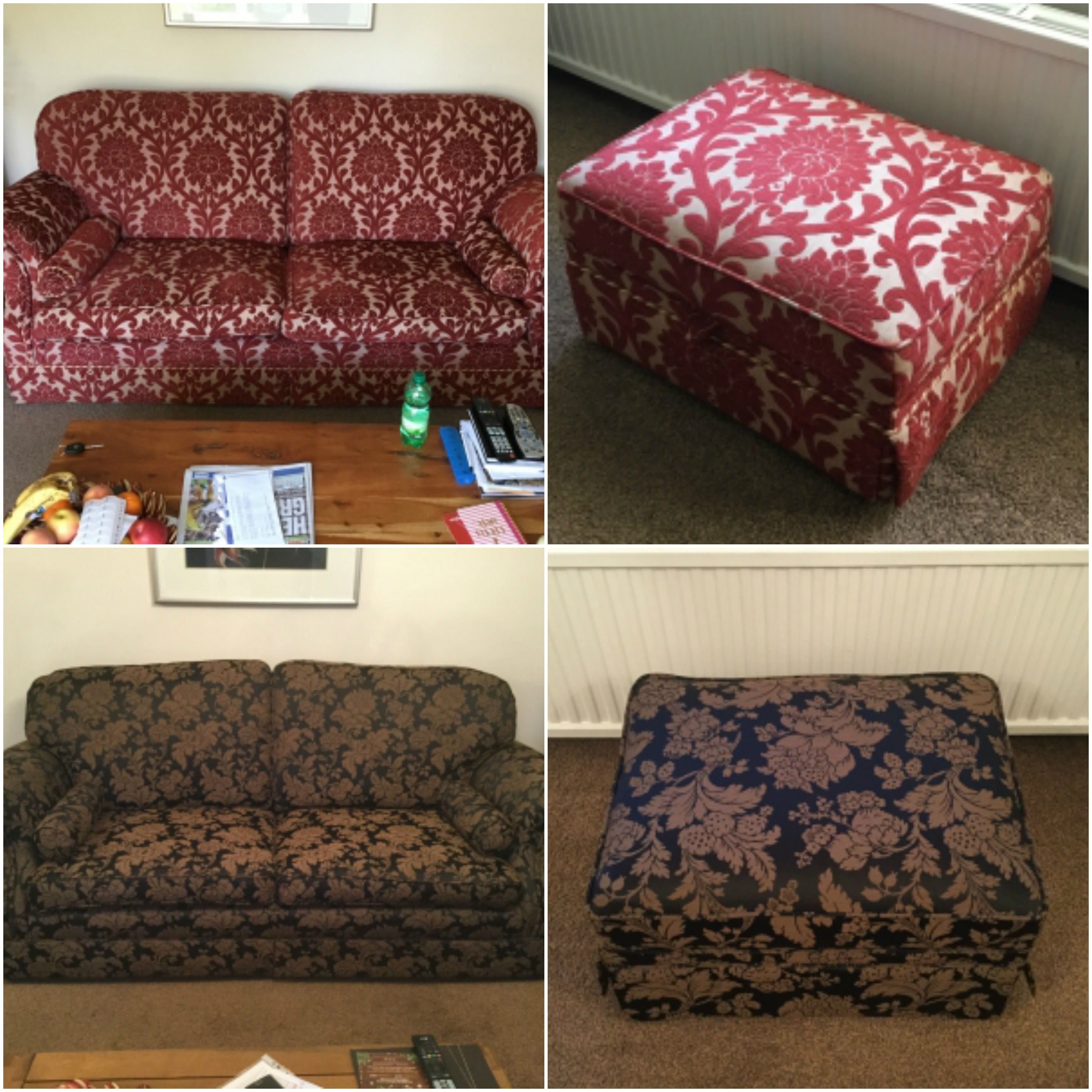 Our Ne Branch Has Recovered This 2Str Sofa And Footstool