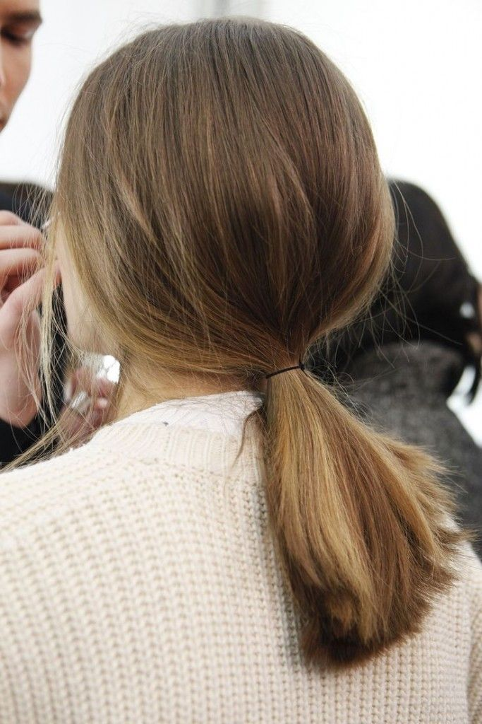 Low Ponytail Haircuts 2016 Haircuts Hairstyles Hair 6