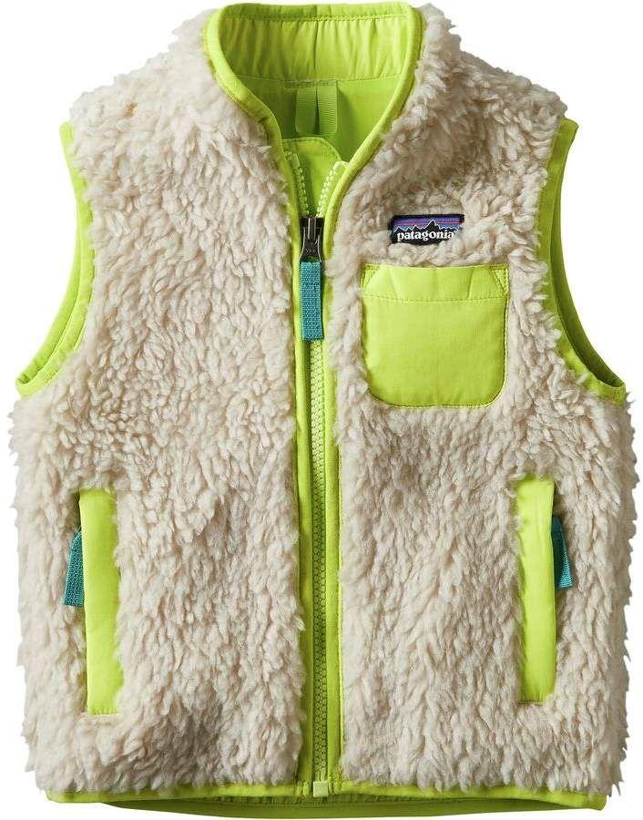 Patagonia Retro X Fleece Vest Toddler Girls メンズファッション
